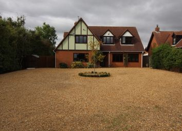 Thumbnail 4 bed farmhouse for sale in Broadgate, Sutton St. Edmund, Spalding