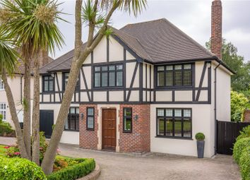 Thumbnail 4 bedroom detached house for sale in Greenbrook Avenue, Hadley Wood, Hertfordshire