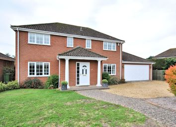 Thumbnail 4 bed detached house for sale in Oak Avenue, South Wootton, King's Lynn