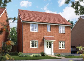 "Thumbnail 4 bed detached house for sale in ""The Buxton"" at Silfield Road, Wymondham"