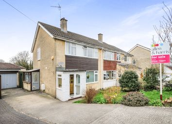 Thumbnail 3 bed semi-detached house for sale in Tellcroft Close, Corsham