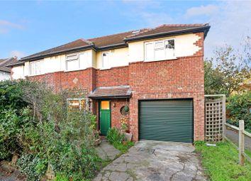 Thumbnail 4 bed semi-detached house for sale in Pembroke Avenue, Hersham, Walton-On-Thames, Surrey