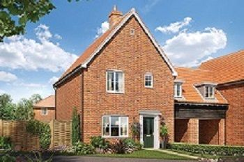 Thumbnail 3 bed link-detached house for sale in Off Saham Road, Watton