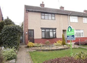 Thumbnail 2 bed property to rent in Rye Crescent, Danesmoor, Chesterfield