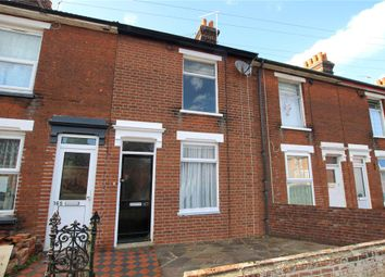 Thumbnail 2 bed terraced house for sale in Woodville Road, Ipswich, Suffolk