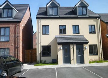 Thumbnail 3 bed semi-detached house to rent in Haven Walk, Barry