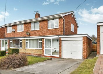 Thumbnail 3 bed semi-detached house for sale in Elmway, Chester Le Street