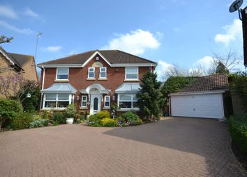 Thumbnail 4 bed detached house for sale in Wrekin Close, Hunsbury Hill, Northampton