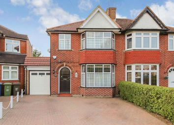Thumbnail 3 bed semi-detached house to rent in Home Mead, Stanmore
