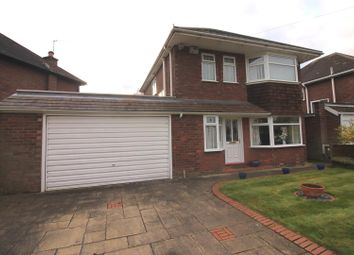 Thumbnail 3 bed detached house for sale in Delbooth Avenue, Urmston, Manchester
