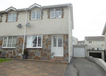Thumbnail 3 bed property for sale in Ty Gwyn Drive, Brackla, Bridgend, Bridgend.