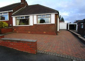 Thumbnail 2 bed semi-detached bungalow for sale in Bedford Avenue, Shaw, Oldham