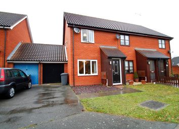 Thumbnail 2 bedroom end terrace house for sale in The Chase, Martlesham Heath, Ipswich