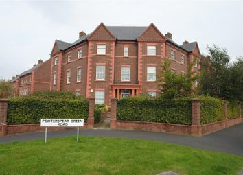 Thumbnail 2 bed flat for sale in Pewterspear Green Road, Appleton, Warrington