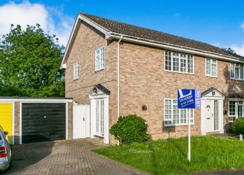 Thumbnail 3 bed semi-detached house to rent in The Paddocks, Bures