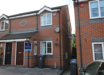 Thumbnail 2 bedroom semi-detached house for sale in Poolfields Court, Brown Edge, Stoke-On-Trent