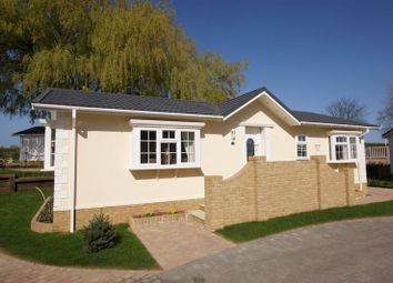 Thumbnail 2 bed mobile/park home for sale in Reculver Lane, Reculver, Herne Bay