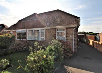 Cranleigh Road, Portchester, Fareham PO16. 2 bed semi-detached bungalow
