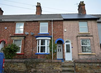 Thumbnail 2 bed terraced house for sale in Porter Street, Staveley, Chesterfield