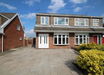Thumbnail 3 bed semi-detached house for sale in Chestnut Road, Bradley, Wrexham