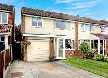 Thumbnail 3 bed semi-detached house for sale in Ashdale Drive, Heald Green, Cheadle