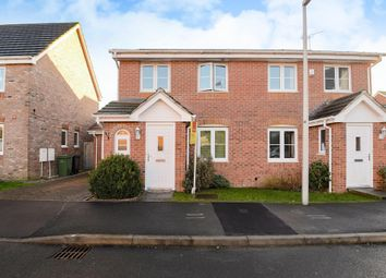 Thumbnail 3 bed semi-detached house for sale in Borderers Gardens, Thatcham
