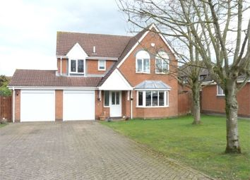 Thumbnail 5 bed detached house for sale in Almond Way, Lutterworth