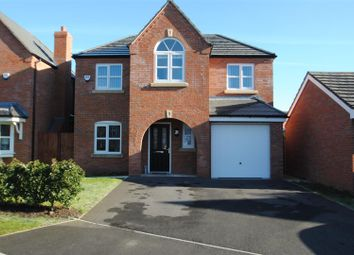 Thumbnail 4 bed detached house for sale in Edgewater Place, Latchford, Warrington