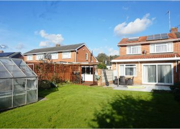 Thumbnail 3 bed semi-detached house for sale in Broadwater Road, Townhill Park, Southampton
