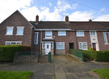 Thumbnail 3 bed terraced house to rent in Cheviot Road, Bebington, Wirral
