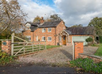 Thumbnail 3 bed detached house for sale in Common Farm Lane, Snelson, Chelford