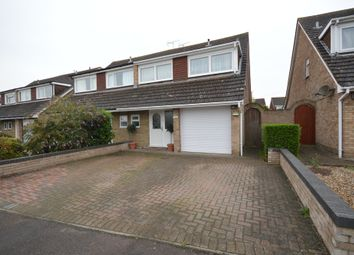 Thumbnail 4 bed semi-detached house for sale in Miles Close, Stanway, Colchester