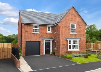 "Thumbnail 4 bed detached house for sale in ""Drummond"" at Barnsley Road, Flockton, Wakefield"
