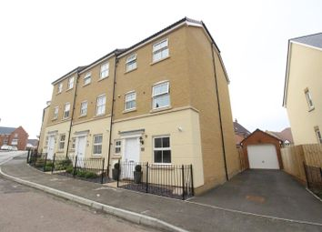 Thumbnail 4 bedroom end terrace house for sale in Truscott Avenue, Redhouse, Swindon