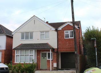 Thumbnail 4 bed detached house to rent in Brockenhurst Road, Aldershot