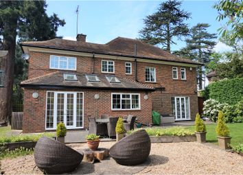 Thumbnail 4 bed detached house for sale in Warren Road, Bushey