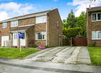 Thumbnail 2 bed semi-detached house for sale in Mossdale Road, Forest Town, Mansfield