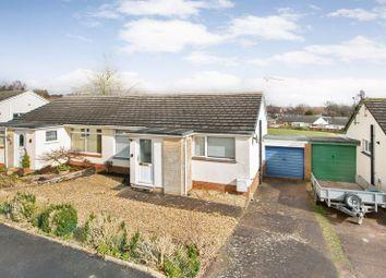 Thumbnail 2 bedroom semi-detached bungalow for sale in Oak Close, Tiverton