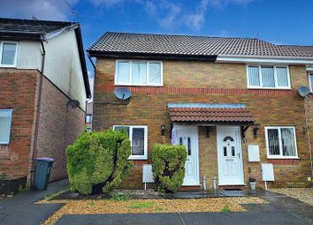 Thumbnail 2 bed terraced house for sale in Brynonnen Court, Henllys, Cwmbran