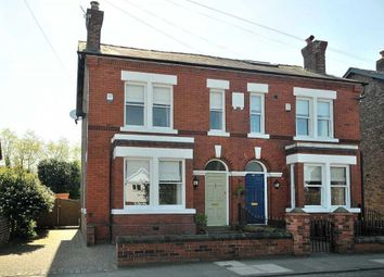 Thumbnail 3 bed semi-detached house for sale in Whitefield Road, Stockton Heath, Warrington