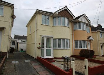 Thumbnail 2 bedroom semi-detached house for sale in Manor Road, Plymstock, Plymouth