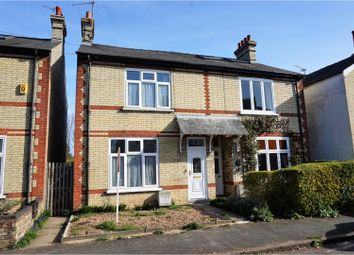 Thumbnail 3 bed semi-detached house for sale in Fulbrooke Road, Cambridge