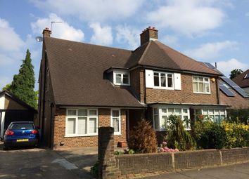 Thumbnail 2 bed maisonette to rent in Elgar Avenue, Berrylands, Surbiton