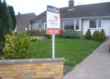 Thumbnail 2 bed semi-detached house for sale in Lincoln Road, Washingborough, Lincoln