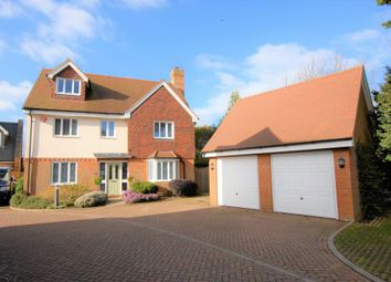 Thumbnail 5 bed detached house for sale in Tanners Close, Saltwood