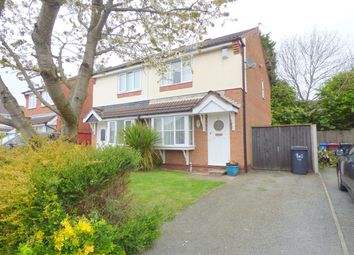 Thumbnail 3 bed semi-detached house for sale in Wokingham Grove, Huyton, Liverpool