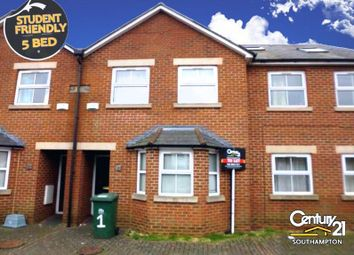 Thumbnail 5 bed terraced house to rent in Avenue Road, Southampton