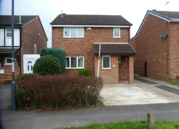 Thumbnail 3 bed detached house to rent in Hobkirk Drive, Sinfin, Derby
