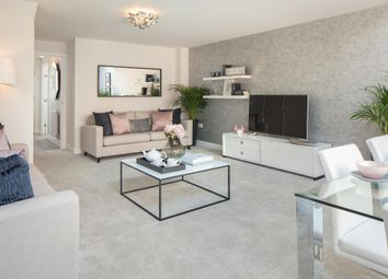 "Thumbnail 4 bed semi-detached house for sale in ""Woodcote"" at Howes Drive, Marston Moretaine, Bedford"