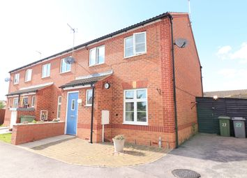 Thumbnail 3 bedroom end terrace house for sale in Tudor Close, Newark